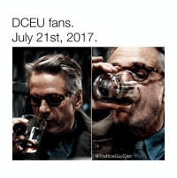 Today should've been one of the most exciting days of the year. We're on the eve of the WB panel with a new JL trailer, Aquaman info, and info on future DCEU movies. But instead, we got the Batfleck reports. Reports that JL reshoots are even more extensive than originally expected under Whedon. And reports of a Joker v Harley movie? Like... W T F 🥃🥃🥃🥃🥃 [Like•Follow•Play•@TheNiceGuyCast]: DCEU fans.  July 21st, 2017  @TheNiceGuyCast Today should've been one of the most exciting days of the year. We're on the eve of the WB panel with a new JL trailer, Aquaman info, and info on future DCEU movies. But instead, we got the Batfleck reports. Reports that JL reshoots are even more extensive than originally expected under Whedon. And reports of a Joker v Harley movie? Like... W T F 🥃🥃🥃🥃🥃 [Like•Follow•Play•@TheNiceGuyCast]