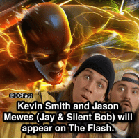 what's the best DC tv show? batman theflash cw barryallen kevinsmith thedarkknight joker gotham cast: @DCFact  Kevin Smith and Jason  Mewes (Jay &Silent Bob) will  appear on The Flash. what's the best DC tv show? batman theflash cw barryallen kevinsmith thedarkknight joker gotham cast