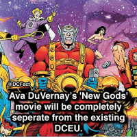 cast them in the comments, including recasting Steppenwolf! newgods avaduvernay dc batman wonderwoman god dceu comicbook: @DCFactESE  Ava DuVernav's 'New Gods'  movie will be completel  seperate from the existing  DCEU. cast them in the comments, including recasting Steppenwolf! newgods avaduvernay dc batman wonderwoman god dceu comicbook