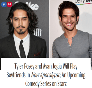 34e6b136c3e15 Bailey Jay, Crying, and Gif: Ddily AiR Tyler Posey and Avan Jogia Will