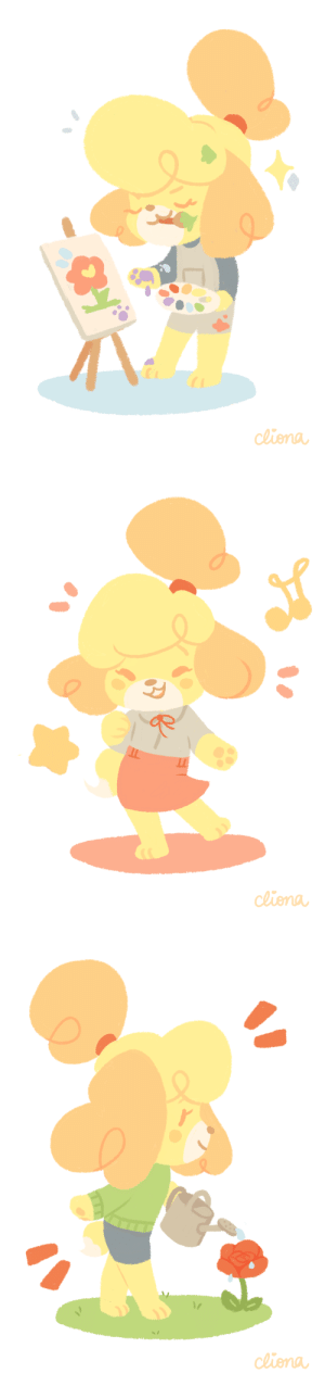 clionadraws:   animal crossing is the game i always turn to and it never fails to make my heart toastie ;w; isabelle is and always will be best girl ♥: de clionadraws:   animal crossing is the game i always turn to and it never fails to make my heart toastie ;w; isabelle is and always will be best girl ♥