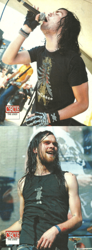 saveallthesins:bert mccracken on circus magazine: De lesce  CRCUS  THE USED   CRCUS  MERICA'S ROCK MAGAZINE  THE USED  02 saveallthesins:bert mccracken on circus magazine