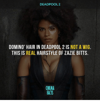 Comment Below what you think of @ZazieBeetz as 'DOMINO' I think she looks Hot Asf! Do you think the XForce will be mentioned in the sequel? - Deadpool2 Marvel MarvelComics CaptainAmerica IronMan Hulk Thor Avengers GuardiansOfTheGalaxy AntMan DoctorStrange SpiderMan BlackPanther CaptainMarvel BlackWidow Hawkeye ScarletWitch Falcon TheVision WarMachine SpiderManHomecoming AvengersInfinityWar Domino zaziebeetz: DEADPOOL 2  DOMINO' HAIR IN DEADPOOL 2 IS NOT A WIG.  THIS IS REAL HAIRSTYLE OF ZAZIE BITTS  CINEMA  FACTS Comment Below what you think of @ZazieBeetz as 'DOMINO' I think she looks Hot Asf! Do you think the XForce will be mentioned in the sequel? - Deadpool2 Marvel MarvelComics CaptainAmerica IronMan Hulk Thor Avengers GuardiansOfTheGalaxy AntMan DoctorStrange SpiderMan BlackPanther CaptainMarvel BlackWidow Hawkeye ScarletWitch Falcon TheVision WarMachine SpiderManHomecoming AvengersInfinityWar Domino zaziebeetz