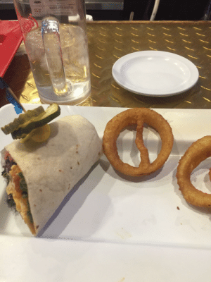 Deadpool Onion Ring in My Dinner The Other Day: Deadpool Onion Ring in My Dinner The Other Day