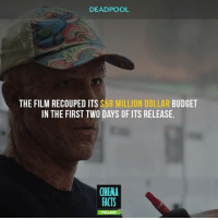 Facts, Instagram, and Memes: DEADPOOL  THE FILM RECOUPED ITS $58 MILLION DOLLAR BUDGET  IN THE FIRST TWO DAYS OF ITS RELEASE.  CINEMA  FACTS Blind Al is the best sidekick in the World. Who's agree? - superheroes nerd marvel dc marvelcomics dccomics mcu dceu guardiansofthegalaxy xmen spiderman ironman captainamerica spiderman captainamericacivilwar robertdowneyjr peterparker civilwar ironman mcu tonystark xmen instagram marvelcinematicuniverse followme avengers MarvelandDC ryanreynolds deadpool