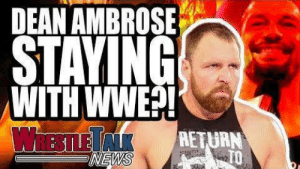 WWE NXT Champion Injured?! Dean Ambrose STAYING With WWE?! WrestleTalk News Mar. 2019 Subscribe: https://goo.gl/WfYA12   🔔Make sure to enable ALL push notifications!🔔 Watch the latest wrestling news: https://youtube.com/playlist?list=PL3V-cB-kGk916fId_K4DRY-Tej2hEtR33&playnext=1&index=2    WWE NXT Champion Injured?! Dean Ambrose STAYING With WWE and more as Luke Owen takes us through todays WrestleTalk MECHANews, Friday 1st March 2019...  Follow WrestleTalk: Facebook: http://facebook.com/WrestleTalkTV Twitter: http://twitter.com/WrestleTalk_TV Discord: http://wrestletalk.com/discord  Watch More WrestleTalk: WrestleTalk News: https://youtube.com/playlist?list=PL3V-cB-kGk916fId_K4DRY-Tej2hEtR33&playnext=1  WWE Reviews (Raw, Smackdown & PPVs): https://youtube.com/watch?v=XZ0CbxoUmKo&t=0s&list=PL3V-cB-kGk93hf7HUszf4QpGFIIYLsSez&playnext=1  WrestleRamble: https://youtube.com/watch?v=xp4bH0JLo-I&index=2&list=PL3V-cB-kGk91_GUHCqtvr1IjPV6x10X74&playnext=1   Listen to WrestleTalk's PODCAST on iTunes: https://goo.gl/7advjX Grab REWARDS via WrestleTalk Patreon: http://goo.gl/2yuJpo Get NEWS & UPDATES on Website: https://goo.gl/9ucvWD  About WrestleTalk: Welcome to the official WrestleTalk YouTube channel! WrestleTalk covers the sport of professional wrestling - including WWE TV shows (both WWE Raw & WWE SmackDown LIVE), PPVs (such as Royal Rumble, WrestleMania & SummerSlam), Impact Wrestling, ROH, New Japan, and more. Subscribe and enable ALL notifications for the latest wrestling WWE highlights, wrestling news, WWE 2K19 updates, and wrestlers exposed.  Sources used for research: WWE Smackdown Live ratings, via Wrestling Observer - https://www.f4wonline.com/wwe-news/wwe-smackdown-viewership-down-last-week-278096  Kofi Kingston WrestleMania plans, via Wrestling Observer - https://members.f4wonline.com/wrestling-observer-newsletter/march-4-2019-observer-newsletter-roman-reigns-returns-wwe-after  Tommaso Ciampa injured, via Wrestling Observer - https://members.f4wonline.com/wrest