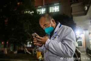 """Dean of Wuhan Jintan Hospital, 57 year old Dingyu Zhang, he is a ALS patient and his wife is diagnosed with coronavirus, he said """"I have to be faster, run faster, so I can save more patients from the virus."""": Dean of Wuhan Jintan Hospital, 57 year old Dingyu Zhang, he is a ALS patient and his wife is diagnosed with coronavirus, he said """"I have to be faster, run faster, so I can save more patients from the virus."""""""