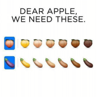 🤗: DEAR APPLE,  WE NEED THESE. 🤗