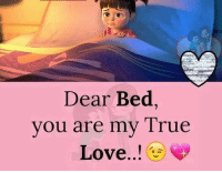 Love, Memes, and True: Dear Bed  you are my True  Love..!