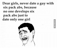 guy with six pack
