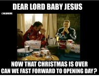 In 99 days!: DEAR LORD BABY JESUS  MLB MEME  NOW THAT CHRISTMAS IS OVER  CAN WE FASTFORWARD TO OPENING DAY? In 99 days!