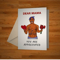Dope, Memes, and 🤖: DEAR MAMA  You ARE  APPRECIATED These cards are beyond dope! Follow @greetstreet and purchase cards for any occasion @greetstreet