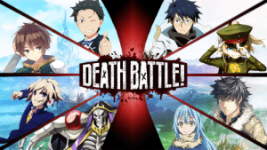 Gigguk said something about an isekai battle royale. This is what I hope would look like.: DEATH BATTLE! Gigguk said something about an isekai battle royale. This is what I hope would look like.