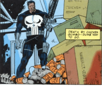 90s Punisher was wild: DEATH BY CHICKEN  AMI GUMBO-DUMB WAY  TO GO  12 90s Punisher was wild