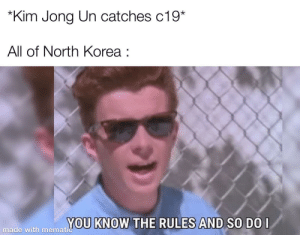 Death count : 1-0-1-0-1-0… ps:-this meme has come all the way from North Korea itself: Death count : 1-0-1-0-1-0… ps:-this meme has come all the way from North Korea itself