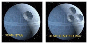 Rise of skywalker leaked by D4RK_C0D3 MORE MEMES: DEATH STAR  DEATH STAR PRO MAX Rise of skywalker leaked by D4RK_C0D3 MORE MEMES