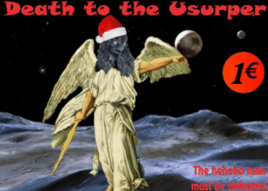Save the eggnog for after the revolution.: Death to the Usurper  1€  The hehshemu  must be Save the eggnog for after the revolution.