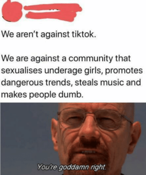 Death to tiktok: Death to tiktok