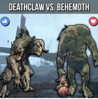 Who would win?: DEATHCLAW VS. BEHEMOTH Who would win?