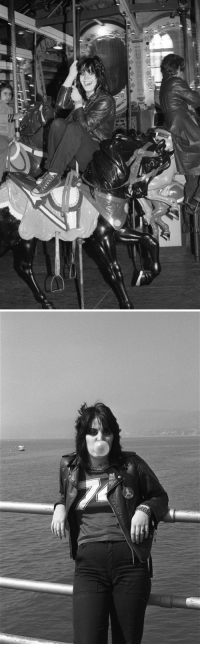 Taken, Target, and Tumblr: debbieharry1979:  joan jett hanging out in santa monica, 1977, taken by donna santisi
