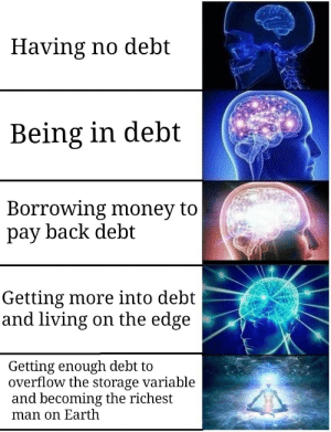 Debt be gone: Debt be gone