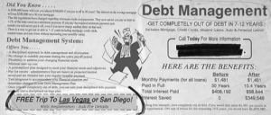 Tumblr, Las Vegas, and Yo: Debt Management  GET COMPLETELY OUT OF DEBT IN 7-12 YEARS  Inhales Mortgape, Credt Cards Student Loans, Auto& Persenal Lsinst  Call Today For More Information  Debt Management System:  Offers You.  No change in moy paysen daing the catire rayeet perio!  lrsibliy to iddress your chahging fincial oeed  HERE ARE THE BENEFITS  Pay for reults adnrative fos ae hasd on projecied iste  aed and are bicsded itoyo erpular morthly pay  Two peograms to codote our hacal sitation and  Before  $1.481  30 Years .4 Yars  After  $1.481  Monthly Payments (for all loans)  Paid In Ful  Total Interest Paid  Oneygaeconplly ut of dete, yo can tarn your disciplined dee  $58,644  $349,548  FREE Trip To Las Vegasor San Diego!、  Orest Saved  wih Registration Ask FRor Detailss y  w 1.073707 memehumor:  Master the art of debt management and get a FREE trip to Vegas? Highly doubtful methinks.