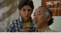 The Karate Kid (Ralph Macchio) is now OLDER than Pat Morita (Mr. Miyagi) was in the original film.: DEC 19TH  Image-No Films School The Karate Kid (Ralph Macchio) is now OLDER than Pat Morita (Mr. Miyagi) was in the original film.