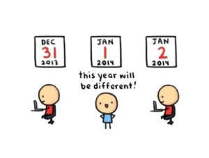 meirl by hater_core MORE MEMES: DEC  31  2013  JAN  JAN  2  this year will  be different.  0 meirl by hater_core MORE MEMES