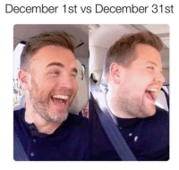 Omg did you gain weight??: December 1st vs December 31st Omg did you gain weight??