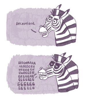 Target, Tumblr, and Blog: DECEPTION.  DISGRAAAA  AAACCCEE  EEEEEEE  EGEEEEE  EEEEEEE  EEEEEEE  EEEEE6  EEEEEE sketchinthoughts:i think about this zebra on a daily basis