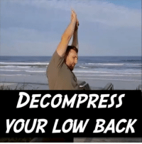 Memes, Control, and Beach: DECOMPRESS  YOUR LOW BACK DECOMPRESS YOUR SPINE Most of you know the feeling of sitting for a long time. Everything feels stiff, immobile, and completely 🗜 compressed, especially your back. Luckily, a lot of that is just a sensation of tightness from sitting in one position for so long. And we can easily give your ⚡ nervous system a quick reset by reaching through some large ranges of motion. One of my favorite ways to do this is through a Controlled Articular Rotation. The goal here is to control and ↔ expand every segment of your spine. I personally like to start by reaching to the sky because it cues me to ⤴ lift my body into a tall position. We then rotate 10 times each direction. Do this one in the airport, at the gas station, at home, or find a 🌞 sunny beach like me. Tag a friend with a stiff and sore back and share the wealth! MyodetoxOrlando Myodetox