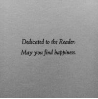 Happiness, The Reader, and May: Dedicated to the Reader  May you find happiness