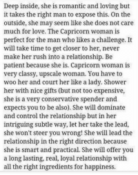Im dating a capricorn woman