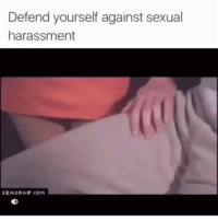 Memes, Videos, and 🤖: Defend yourself against sexual  harassment  SENORGIF.COM FOLLOW @trollvid.s for newest epic viral videos 🎥🔥‼️