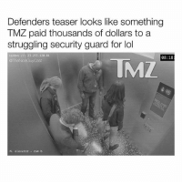Chun-Li, Jay, and Jay Z: Defenders teaser looks like something  TMZ paid thousands of dollars to a  struggling security guard for lol  ip/dns 23.253.120.81  TML  08:18  The NiceGuyCast  N. elevator  cam b From @theniceguycast - Lolol. Defenders teaser immediately made me think of when Solange went Chun Li on Jay Z in that elevator 😅