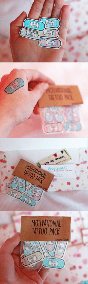 selfcareshop:  Pastel Band-Aid Tattoos with self-love affirmations: Believe in Yourself ♥ Love Yourself ♥ Treat Yourself ♥ You Are Cute ♥ Your are Worth it ~ from here: DEFIEAE  132RUOY WI  3RA UOY  TI HTROW  TOAE  13ZAUOY  TAJRT  IZRUOY  UOY  VBE CNLE  ....  ....  .....  .....   YOU ARE  WORTH T  AG TOO PNCK   and don't upu tre  Nou are amazing  ivaticn o self imprevement o sei care  FOR YOU O  PopShopUK  MOTIVATIONAL  TAT TOO PACK  MOTIVATIONALIATTOOS  OTIVATIONALTATTOOS.COM  POPSHOPUK ETSY.COM  IF UNDE  38 RICH  ...  AONKRETE  TOAE  MOBIH  3RA VOY  .  И ОЛКОЕР  ЕПЕЛЕ  UI8ZETE  DЕПЕЛЕ   MOTIVATIONAL  TATTOO PACK  POPSHOPIK ET M  ....  AONKRETE  TOAE  MOKIH U  AOn VWE  PETIEAE  AONBZETE  PETIEAE selfcareshop:  Pastel Band-Aid Tattoos with self-love affirmations: Believe in Yourself ♥ Love Yourself ♥ Treat Yourself ♥ You Are Cute ♥ Your are Worth it ~ from here