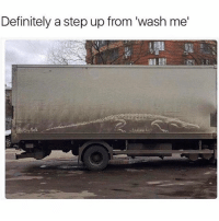 Definitely, Memes, and 🤖: Definitely a step up from 'wash me' WordOnDaStreet