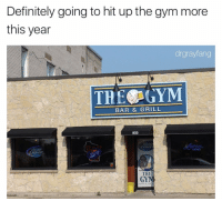 Liver cardio: Definitely going to hit upthe gym more  this year  drgrayfang  GYM  BAR & GRILL  THE  GYM Liver cardio
