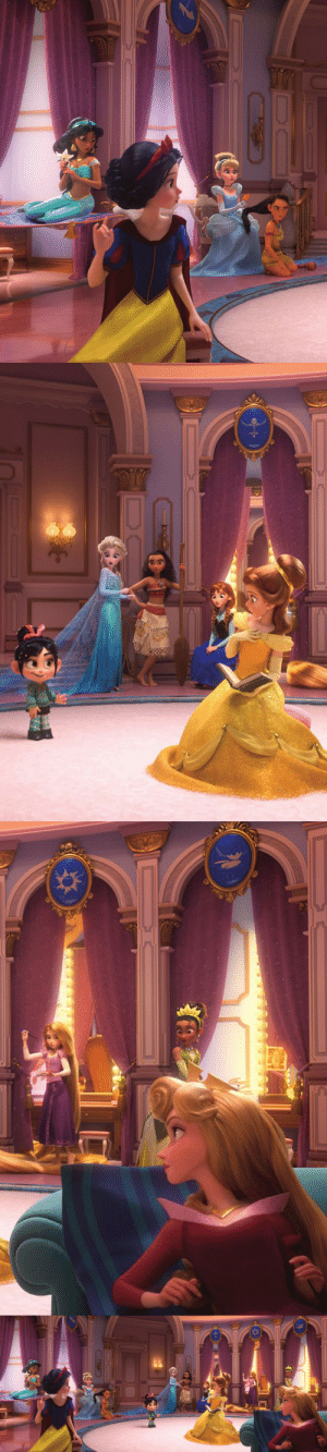 Definitely, Frozen, and Internet: definitely-not-lordenglish:  constable-frozen:  Ralph Breaks The Internet: Wreck-It Ralph 2  The princesses: