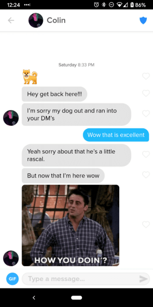 Definitely the best start to a convo I've ever had.: Definitely the best start to a convo I've ever had.