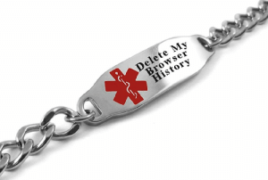 Tumblr, Blog, and History: Delete My  Browser  History novelty-gift-ideas:  Medical Alert Bracelet