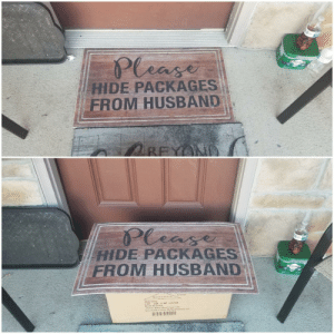 Delivered a package this morning. Think I nailed it.: Delivered a package this morning. Think I nailed it.