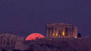 demigodgooglesearches:  lastjedie: Super blue blood moon rises behind Parthenon, in Athens January 2018  how the fuck did the ancients react to this without thinking the gods were pissed : demigodgooglesearches:  lastjedie: Super blue blood moon rises behind Parthenon, in Athens January 2018  how the fuck did the ancients react to this without thinking the gods were pissed