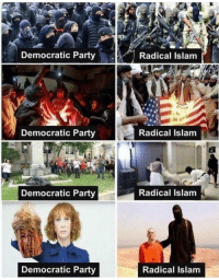 Party, Democratic Party, and Islam: Democratic Party  Radical Islam  Democratic Party  Radical Islam  Democratic Party  Radical Islam  Democratic Party  Radical Islam