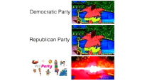 Party: Democratic Party  Republican Party  Wii Party