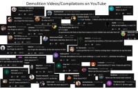 demolition d: Demolition Videos/Compilations on YouTube  Kadir El 4 months ago  Where is wtc7?  千卂  DA Iglesias 4 months ago  I miss you the 9/11  2 REPLY  Shark89on 3 months ago  DanRsturboS1 2 months ago (edited)  Twin towers was taken down same way people (911)  13  REPLY  minions bob 2 months ago  No why not 9/11  Matthew Bashor 4 months ago  0:08 look familiar.... Watch when the twin towers collapsed  REPLY  you forgot the twin towers  vaskiii 1 year ago  wher is wtc building 1,2 and 7??  2 REPLY  1 REPLY  REPLY  Sergio Silva 3 months ago Jameone 4 months ago  You forgot to add 9/11They forgot the Twin Towers...  This first is same like 9/11!  9/11 is fake!  Us government did that so they have reason to invite Middle East and take their oil!  95 REPLY  alessandro con  1  REPLY  REPLY  Muhammed Nadjib 4 months ago  Yeah that's what they did in 9/11 too  GREEVZ 4 months ago  you forgot the demolition of the twin towers in 2001  like world trade center  120REPLY  4 REPLY  55 REPLY  Uygar 8 months ago  You forget to add 9/11  GREEVZ 4 months ago  you forgot the demolition of the twin towers in 2001  Dr. Harmonica 1 year ago  Looks just like the 3 9-11 towers coming down. Suspicious to say the least.  153 REPLY55REPLY  holtman2012 5 months ago  The best demolitions I've seen were buildings 1, 2, and 7 on 9/11....definitely demolitions  Hussain Sgag 1 year ago  9/11 see videos same like that  ASKD Little Retard 1 year ago  What about 9/11 ?  Kappa  14REPLY  IUusasad 4 montns ago  Akay San 4 months ago  155REPLY  understanding 911 wow. I hope you get it too  Nbg90411 1 year ago  Where ist 9/11?  1.139 וכ REPLY  Shusho Yamazaki 4 weeks ago  Should've put 911 on the list  jack sparu 1 month ago  The best is 9/11  MocroManiac 5 months agoY  Where are the twin towers???  1.4 וכ REPLY  1.4  REPLY  Matthews 5 months ago  Where are the world trade centres?..  Dorito D  5 REPLY  Daymeon Young 3 months ago  Uh 0.31 looks a lot like 9-11  What about WTC7  Betim Izairi 9 months 