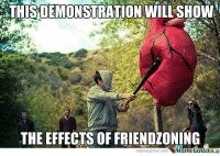 Pretty much??: DEMONSTRATION WI  THE EFFECTS OF FRIENDLONING  meme center-com Pretty much??