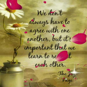 Memes, 🤖, and Page: den anb have to  ays have  aghee with one  another, but t  important thet w  learn to  each other  The f The Joy Page <3