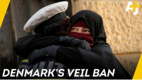 Memes, Muslim, and Denmark: DENMARK'S VEIL BAN These Muslim women in Denmark are defying a new law against wearing veils in public.