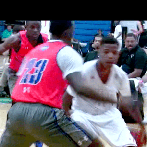 Hit 'Em, Memes, and School: Dennis Smith Jr hit em with that Jamal Crawford move back in high school.. @Dennis1SmithJr https://t.co/LIfuTjgOd7